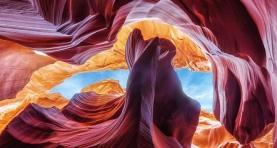 Za oknem ponuro więc czemu by nie wybrać się do malowniczej Arizony... Nawet jeśli dziś miałab