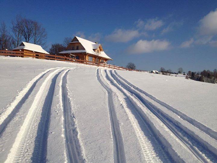 Śmigamy w Istebnej. Śniegu duuuużo :) zapraszamy chętnych!