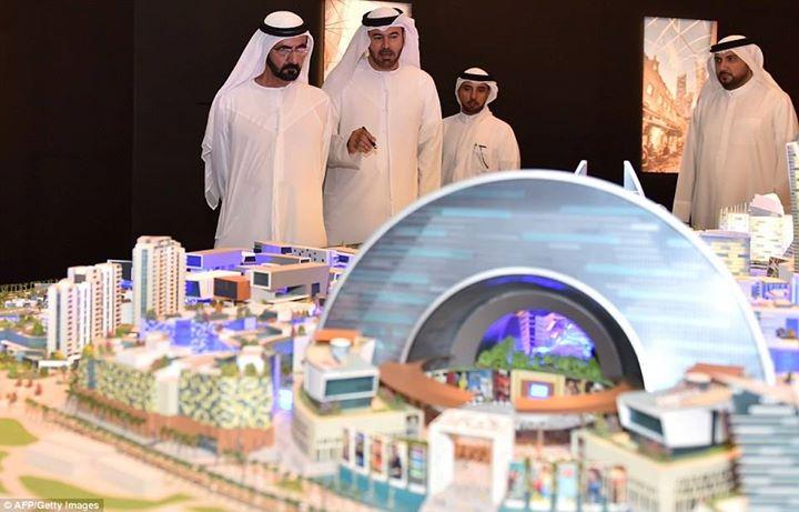Dubaj... zaskakuje jak zwykle...