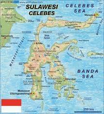 Indonezja, Sulawesi - czyli wyspa w kształcie skorpiona