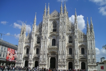 Włochy, Mediolan - wyjazd do miasta mody, sporu, architektury
