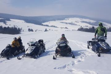 Rumunia - wyprawa na skuterach śnieżnych
