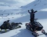 Rumunia - wyprawa na skuterach śnieżnych  - Dzień 1