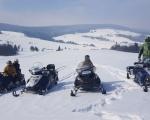 Rumunia - wyprawa na skuterach śnieżnych  - Dzień 2