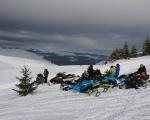 Rumunia - wyprawa na skuterach śnieżnych  - Dzień 3